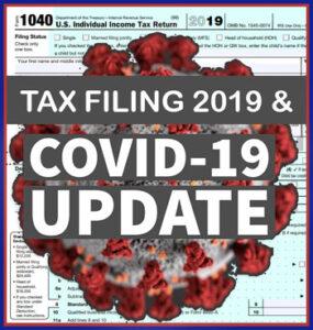 Tax Filing Update 2019